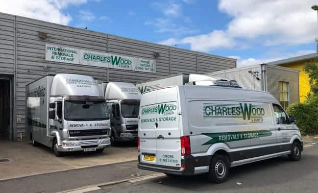 charles wood domestic removal vans